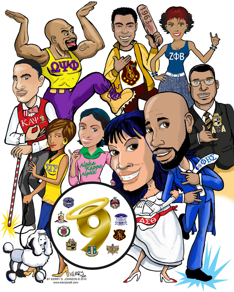Divine 9 Organizations - Greater Raleigh Area NPHC