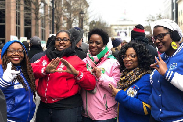 Greater Raleigh NPHC - 2020 MLK March